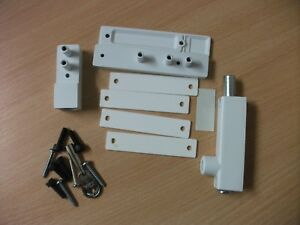 Pack of 10 Window Locks PVC-U White with Key Era 810-16 BULK ORDER