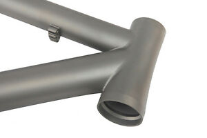 """J&L Titanium Tapered Head 29er frame-XC/Ti-14~22""""-Double Butted-Matte"""