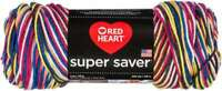 Red Heart Super Saver Pooling Yarn Carnival 073650033414