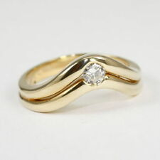 Sehr gute Ringe aus Gelbgold mit 56 (17,8 mm Ø)