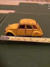 Corgi Citroen 2CV6 Yellow Made in Great Britain