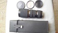Zenvar  F3.8 85 - 210 Auto Zoom + Macro. Used on Pentax Z- 20. Case + Blue filte