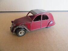 788G Vintage Dinky 24T Citroën 2cv Bordeaux 1:43