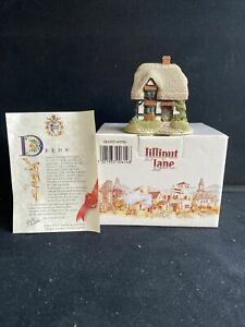 Lilliput Lane Granny Smiths The English Collection, Midlands 1992 Boxed & Deeds