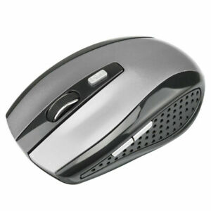 2.4GHz Wireless Optical Mouse Mice USB Receiver Fit PC Laptop Computer