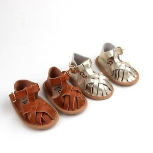 Baby Soft-Sole Sandals, Closed Toe Baby Sandals, Toddler Sandals, Baby Girl shoe