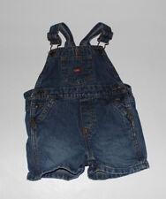 NWOT Infant Boys LEVIS Denim Shortalls Size 12 Months