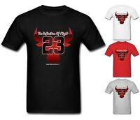 NEW Mens T-shirt Michael Air Legend 23 Jordan Chicago Bulls Men shirt Top Tumblr