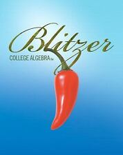 College Algebra by Robert Blitzer (2010-Hardcover 3rd edition)