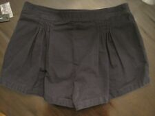 Marc by Marc Jacobs Multi-pleated Shorts in Normandy Blue US 12