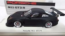 Porsche 911 (997 II) GT3 R Présentation noire mate Spark 1/43   1/300 Ex..