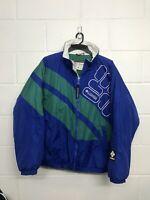 Vintage Columbia Sport Puffer 90s Snowboard Ski Jacket Color Block Mens Large