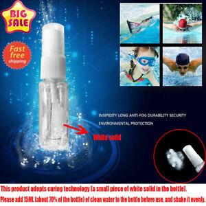 1pc 20ML Anti Fog Agent for Swim Goggle Glass Lens Dive Mask Cleaner Spray Mist