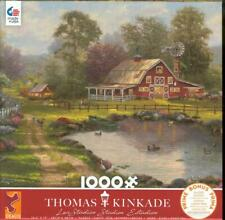 Thomas Kinkade Ceaco Puzzle 2020 1000Pc Red Barn Retreat NIB