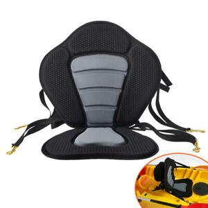 Adjustable Padded Deluxe Kayak Canoe Seat Back Bag Backrest Straps