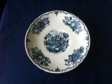 Masons Fruit Basket (blue) large deep saucer (for breakfast cup ? )