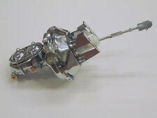 "1955 1956 1957 Chevy Car 9"" Chrome Brake Booster w/ Master Cylinder Bel Air 210"
