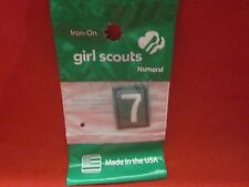 JUNIOR OR CADETTE GIRL SCOUTS NUMBER 7 (NEW)