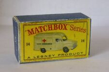 Repro Box Matchbox 1:75 Nr.14 Lomas Ambulance