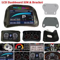 LCD Racing Game Dashboard SIM Simulator For Logitech CSW ATS ETS2 Dirt3 F1 RRE