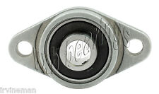 """RCSMRFZ-18S Bearing Flange Insulated Pressed Steel 2 Bolt 1 1/8"""" Inch Rolling"""