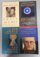 A Brief History of Everything Ken Wilber 4 book lot Grace Eye to Eye To Spirit