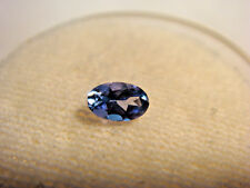 Tanzanite Oval Cut Gemstone 4 mm x  3 mm 0.25 carats Natural Gem