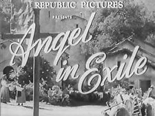 ANGEL IN EXILE (DVD) - 1948 - John Carroll, Adele Mara