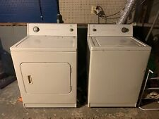 New Listingelectric washer and dryer set used