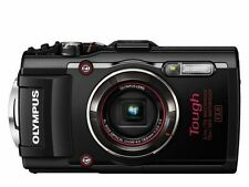 Olympus Stylus Tough TG-4 16.0MP Digital Camera - Red & Black