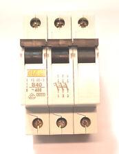 EIA Sicherung Schutzschalter Sicherungsautomat LS B 40   3-polig  Neu