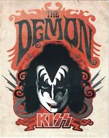 Kiss The Demon vinyl sticker 130mm x 100mm (cv)