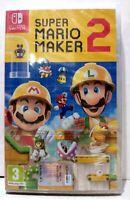 SUPER MARIO MAKER 2 (ENG+ITA) [Nintendo Switch 2019] Nuovo Sigillato Garantito