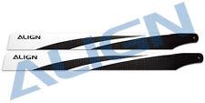 Align Trex 470L 380 Carbon Fiber Blades  HD380A