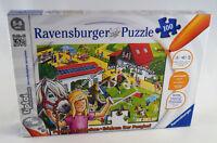 Ravensburger tiptoi Lernspiel Puzzeln, Entdecken, Erleben - Ponyhof Neuware /New