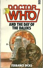 Paperback Book - DOCTOR WHO And Day of the Daleks - Terrance Dicks - 100s listed