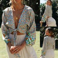 Fashion Women Ladies Long Sleeve O-neck Tight Elastic T-shirt Blouses Crop Tops