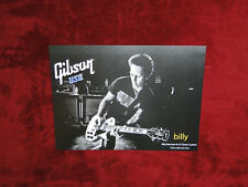 Billy Morrison Gibson Guitars Poster.....