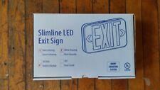 SLIM LINE Model 5055517 LED Exit Sign