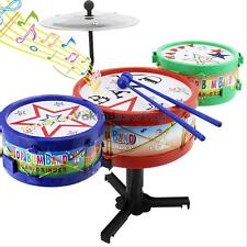 Baby Kids Jazz Mini Drum Sets Child Musical Instrument Play Educational Toy Gift