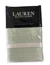Ralph Lauren Lakeview light green Linen Euro Pillow Sham retail $135