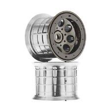 Oversize Beadlock 8-Hole Wheel 17mm Black Chrome (2) Monster Truck Wheels AX8017