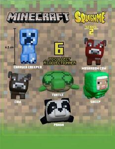 Minecraft Squishme Anti-Stress Figures 6 cm Series 2