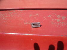 1964 Olds Cutlass F85 442 Oldsmobile Hood Script Emblem Letter B Gm Oem