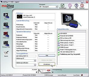 modiag ultimate OBD2 Profisoftware Gasanlagen Einstellung 3D Kennfelder