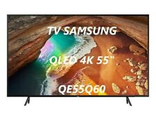 "TV SAMSUNG QE55Q60 55"" SMART QLED ULTRA HD 4K Televisore HDR DVB-T2 WiFi"