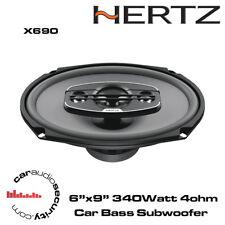 "Hertz UNO X690 - 6""x9"" 4-Way Car Audio Coaxial Shelf Speakers 340W"