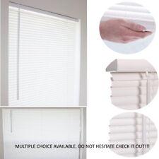 1'' Cordless Mini Blind Window Vinyl Washable Multiple Size Privacy Shade Blinds