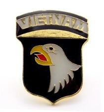 101st Airborne Division US Army Vietnam Lapel Hat Pin Gift Brass Military PPM018