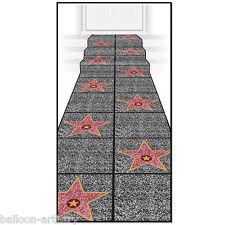 10ft Hollywood Celebrity Stars Walk Fame Floor Runner Party Decoration